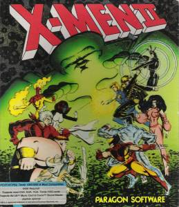 X-Men Fall of the Mutants Computer Video Game