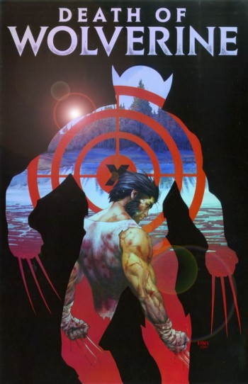 Death of Wolverine Marvel Cover