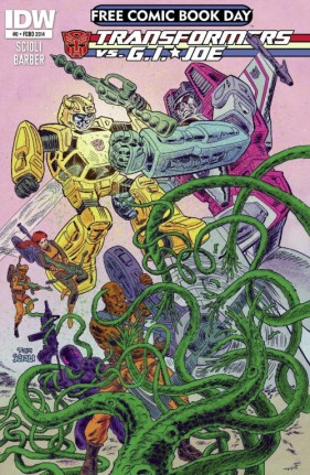 Transformers Vs. G.I. Joe #0 FCBD Cover