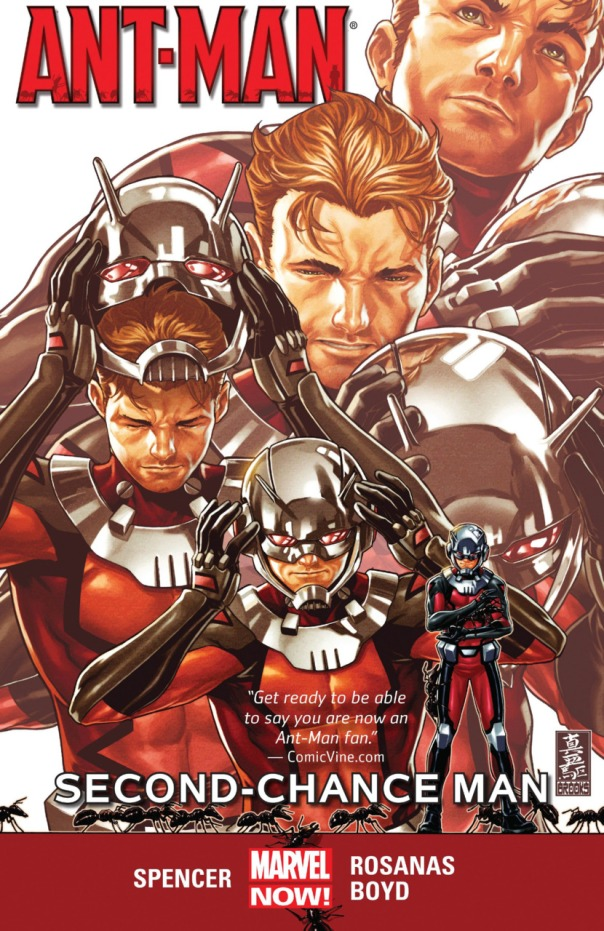 Ant-Man Vol. 1 Second-Chance Man Cover