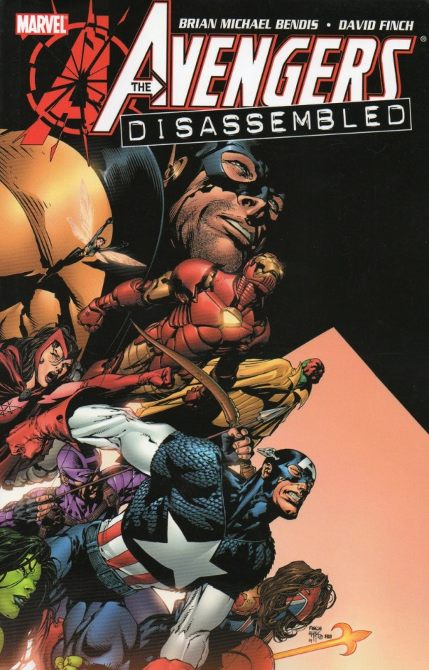 Avengers Disassembled Cover