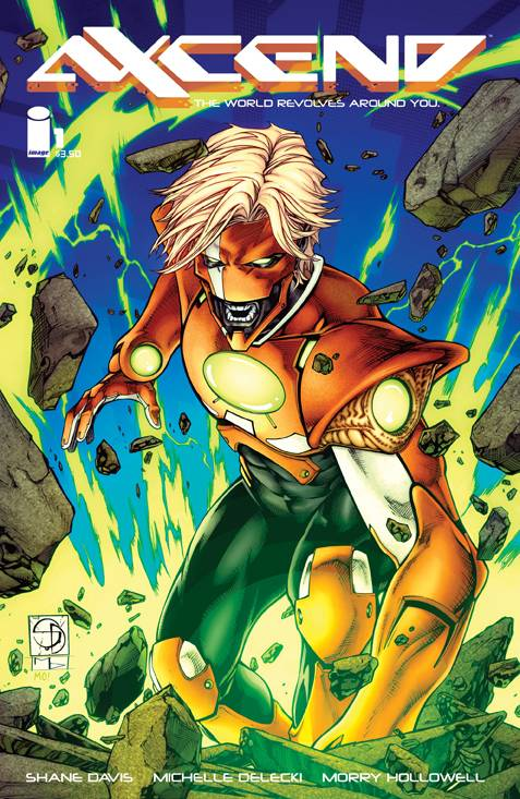 Axcend #1 Cover