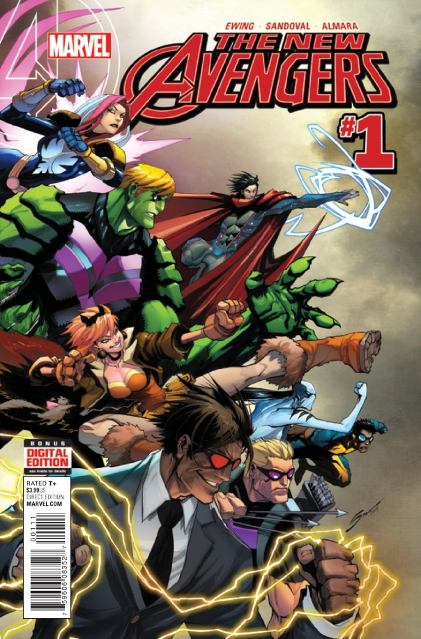 New Avengers #1 Marvel Comics Cover