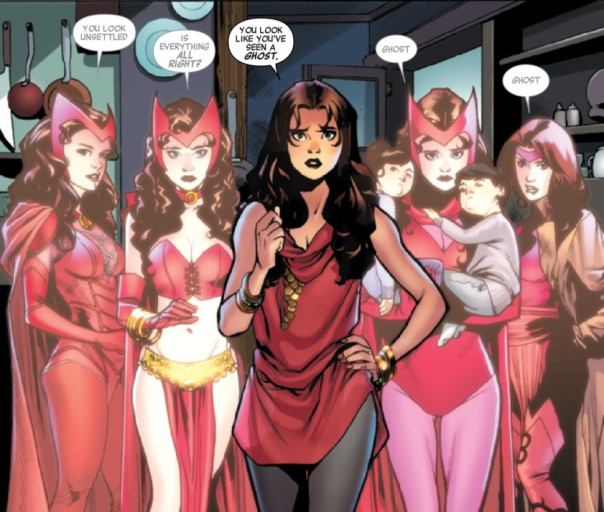 Scarlet Witch Avengers #0 Image