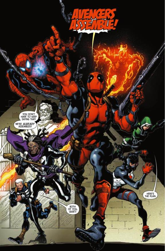 Uncanny Avengers #1 Avengers Assemble