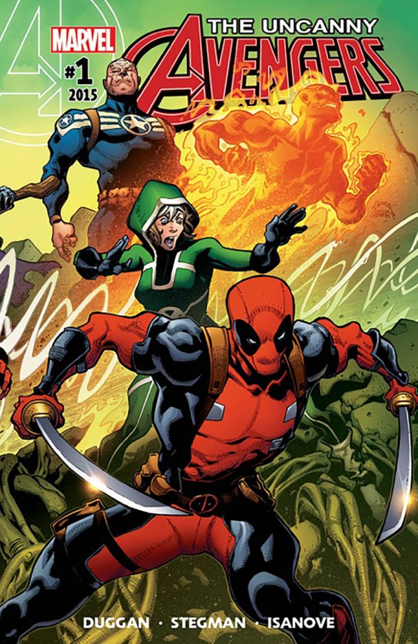 Uncanny Avengers #1 Marvel Comics Cover