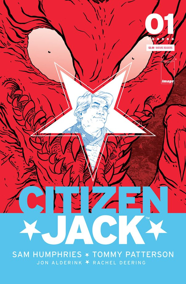 Citizen Jack #1 Cover