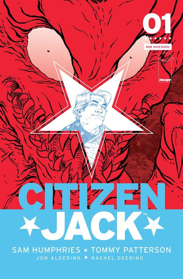 Citizen Jack #1 Cover